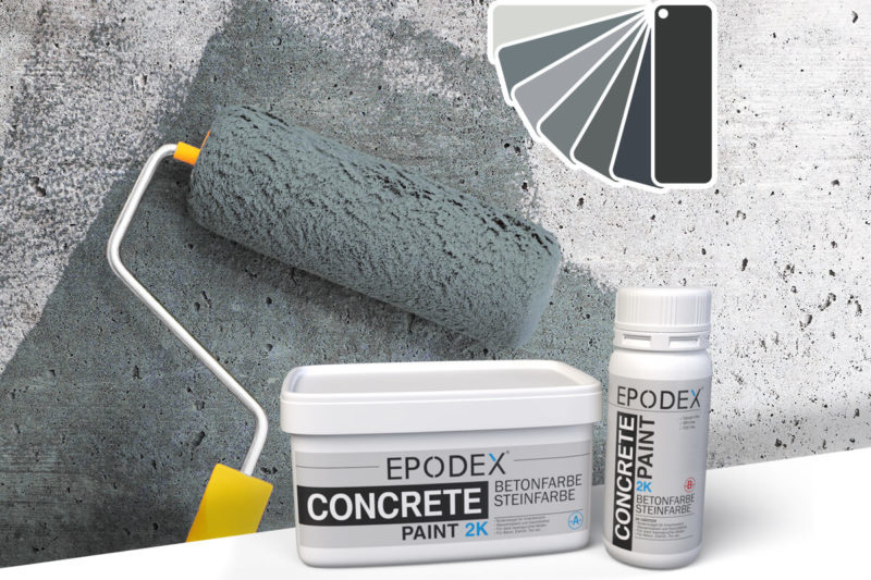 bodenfarbe betonfarbe concrete grau