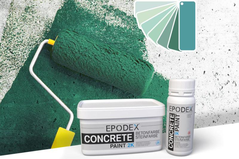 bodenfarbe betonfarbe concrete tuerkise