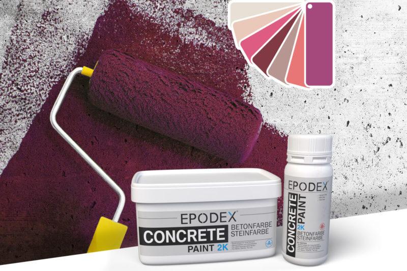 bodenfarbe betonfarbe concrete violett