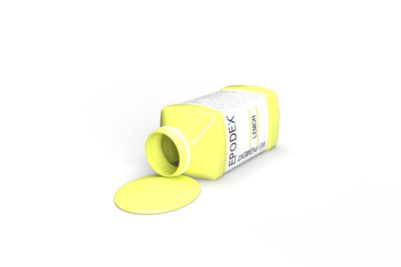 pigment farbe paint lemon