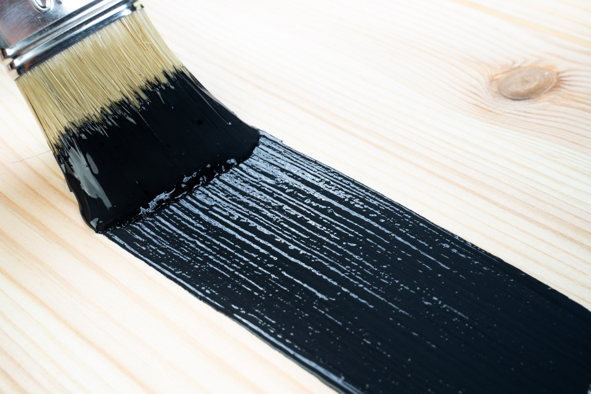 acryllack holfarbe streichen