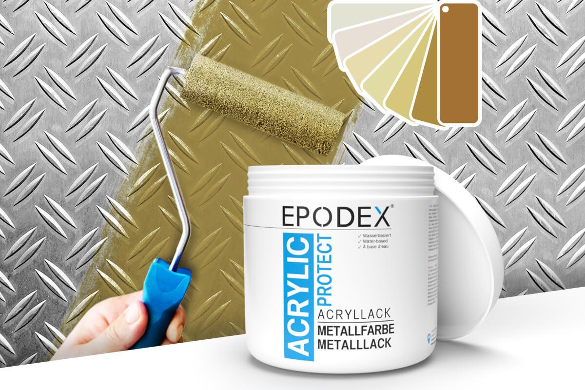 acryllack metallfarbe beige