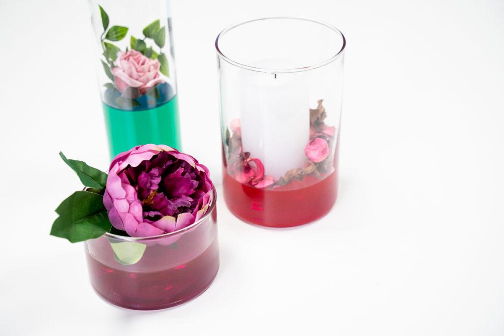 resin vase decoration