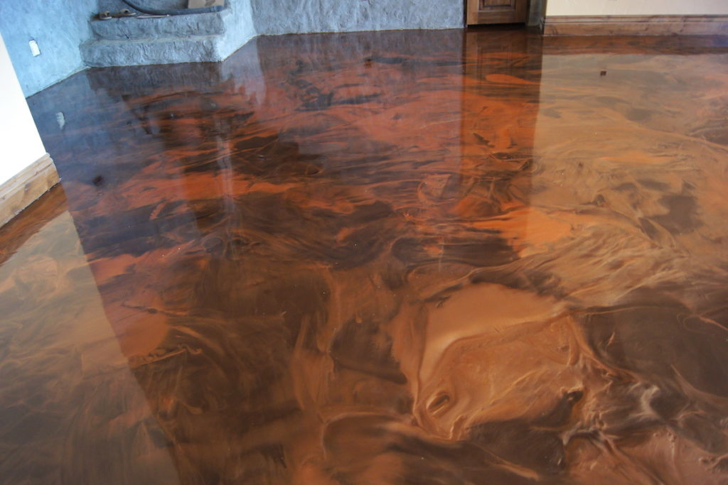 design floor epoxy resin diy