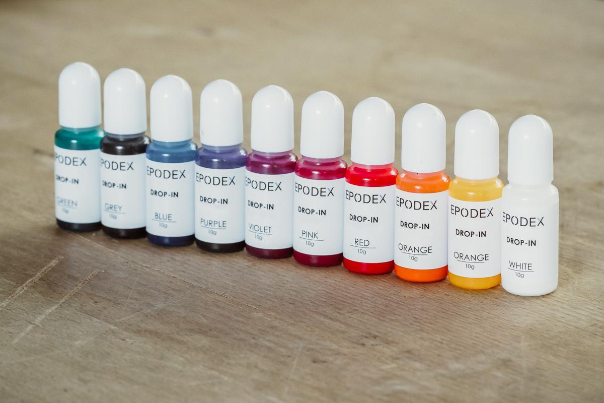 Transparent colour concentrates