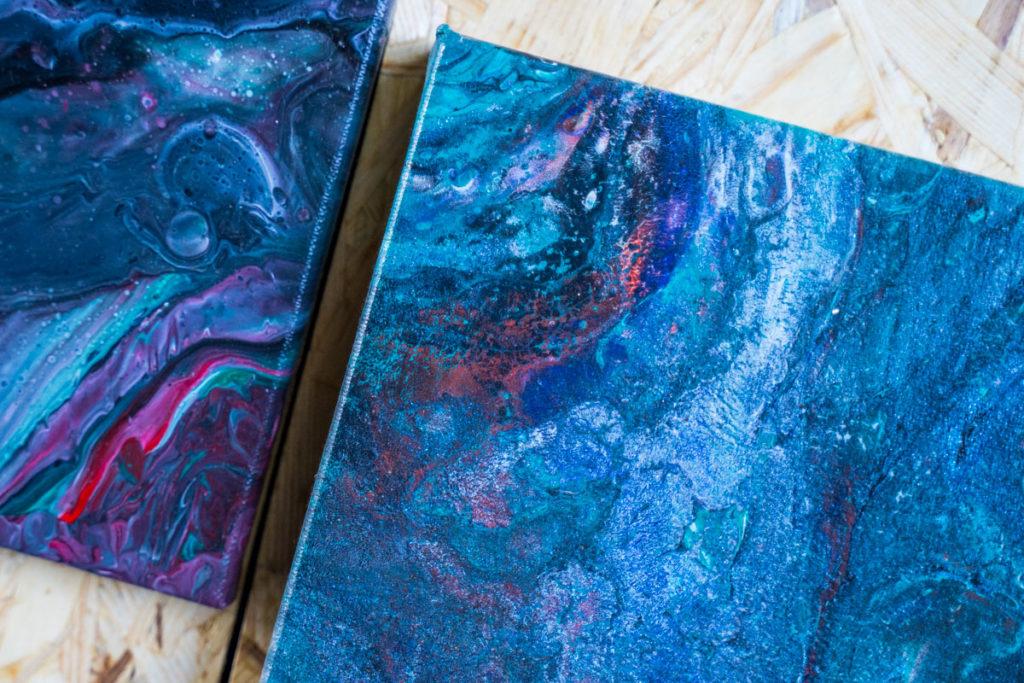 epoxy paint fluid painting