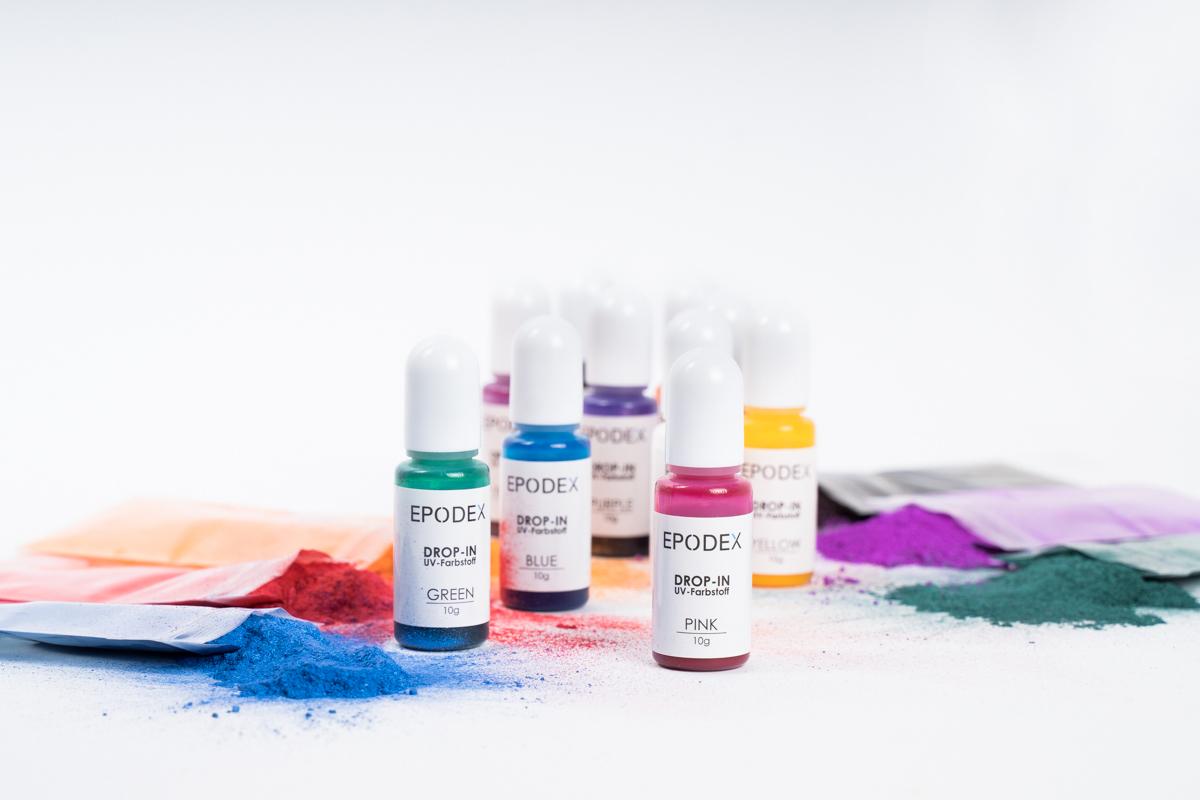 epoxy resin paints colours