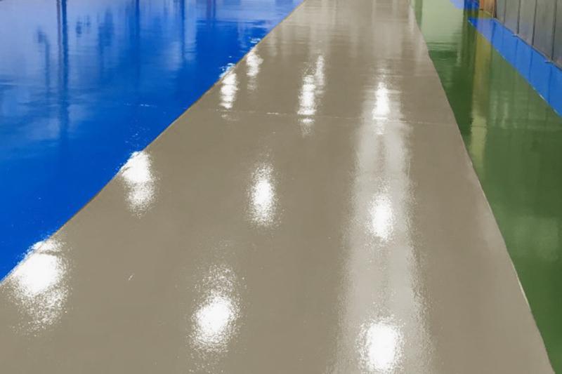 garage floor paint resin