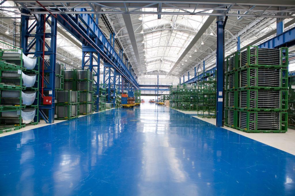 industrial flooring epoxy coating