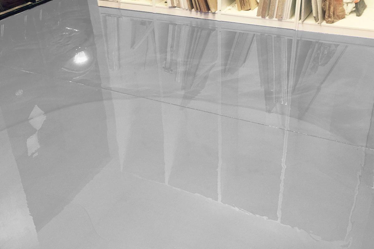 Transparent White Epoxy Floor Incl Primer Epodex United Kingdom