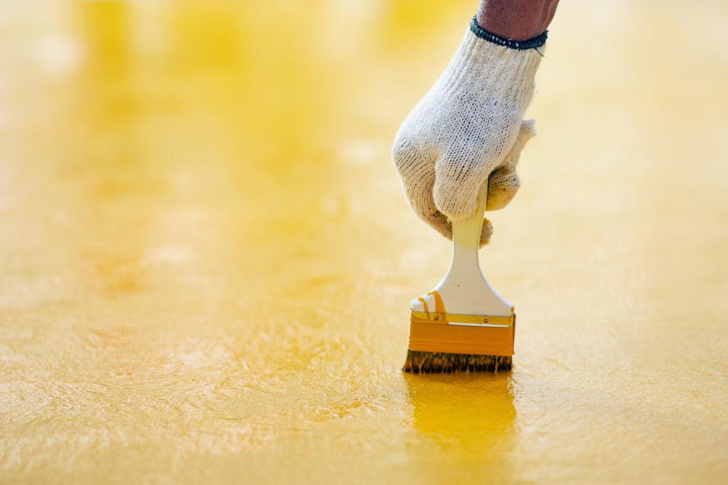 resin flooring epoxy coating