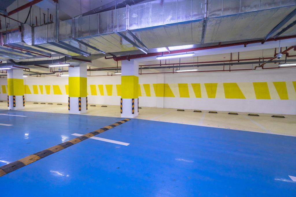 resin flooring garage paint