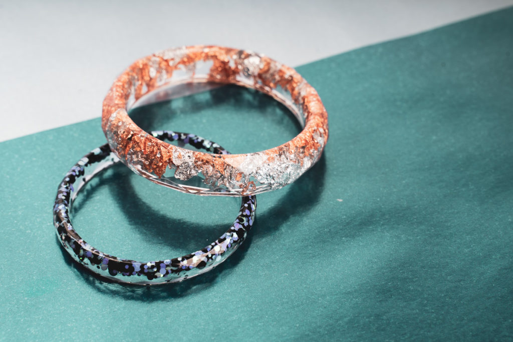 resin jewellery bracelet diy