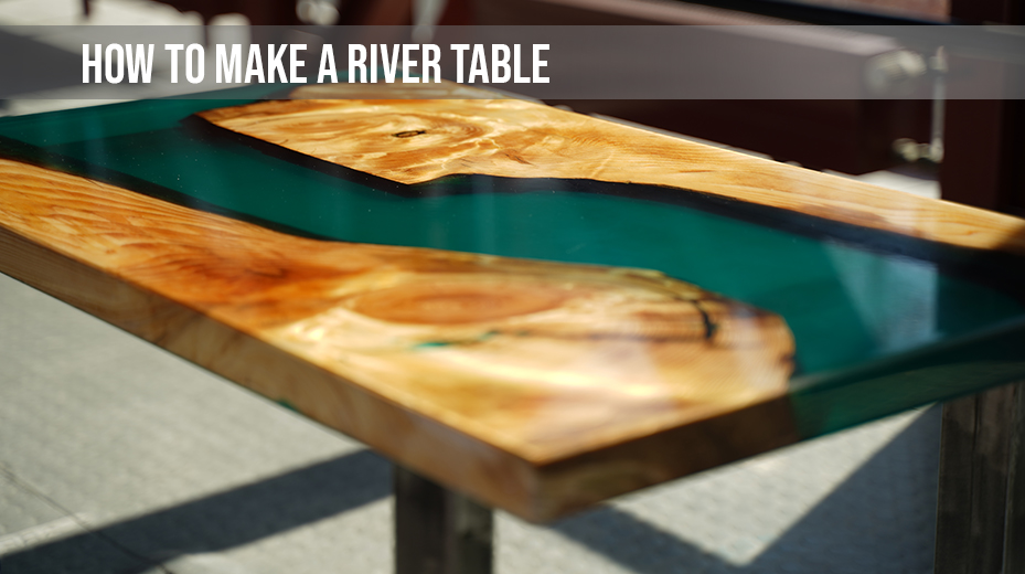 How to Make a Resin River Table