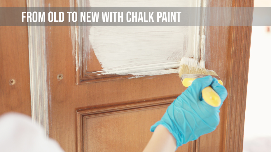 Upcycle your old furnitures with CHALK PAINT
