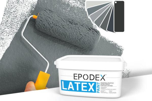 Latex paint epodex grau