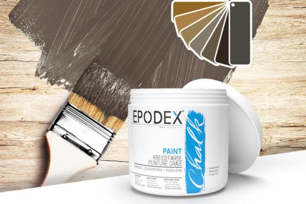 kreidefarbe chalk paint epodex brown