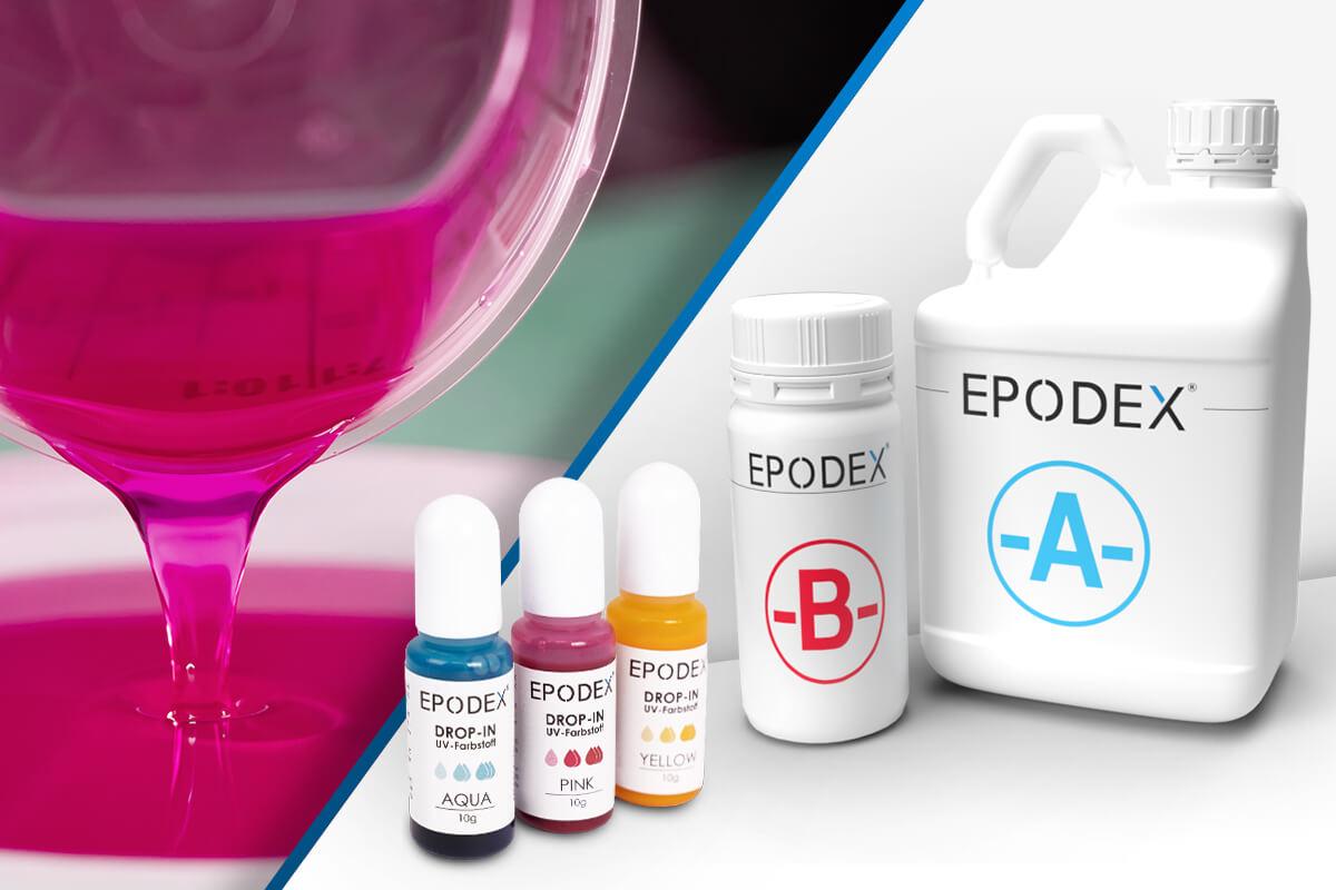 epoxy resin casting resin transparent