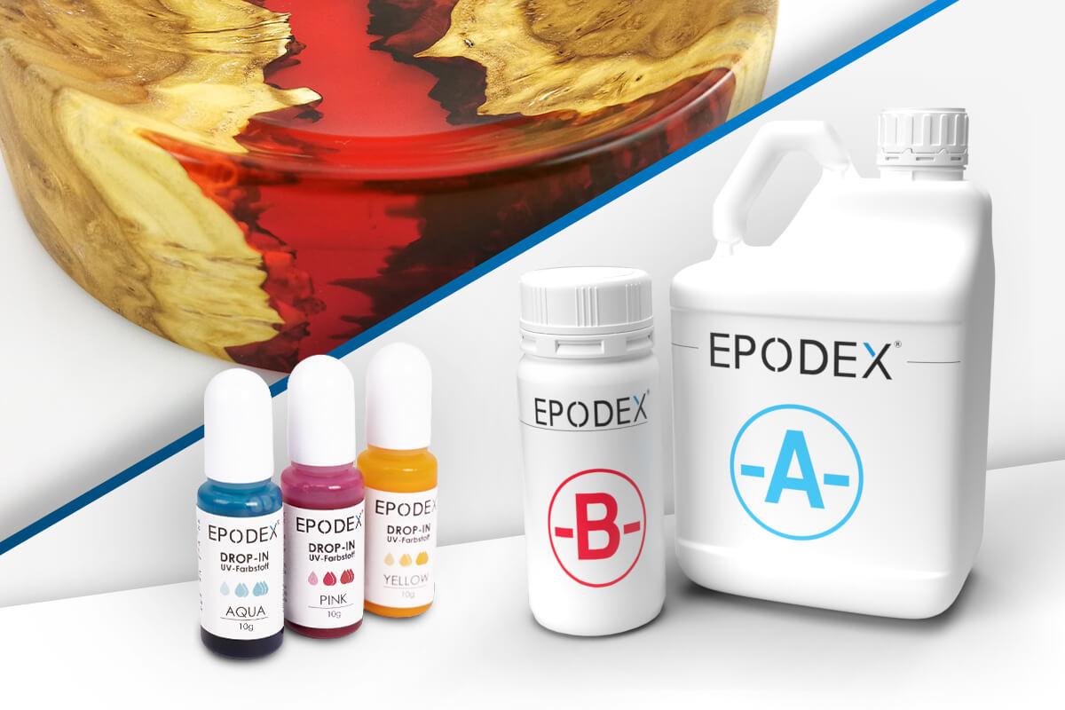 epoxy resin deco transparent