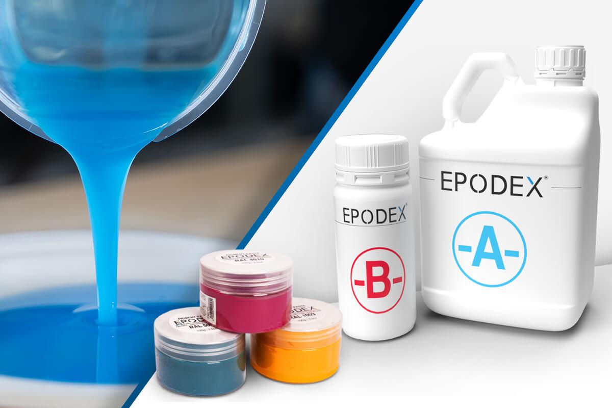 epoxy resin epodex solid colours