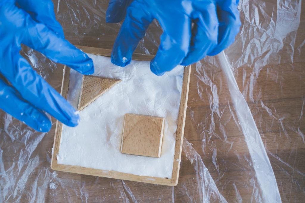 instructions de moule silicone