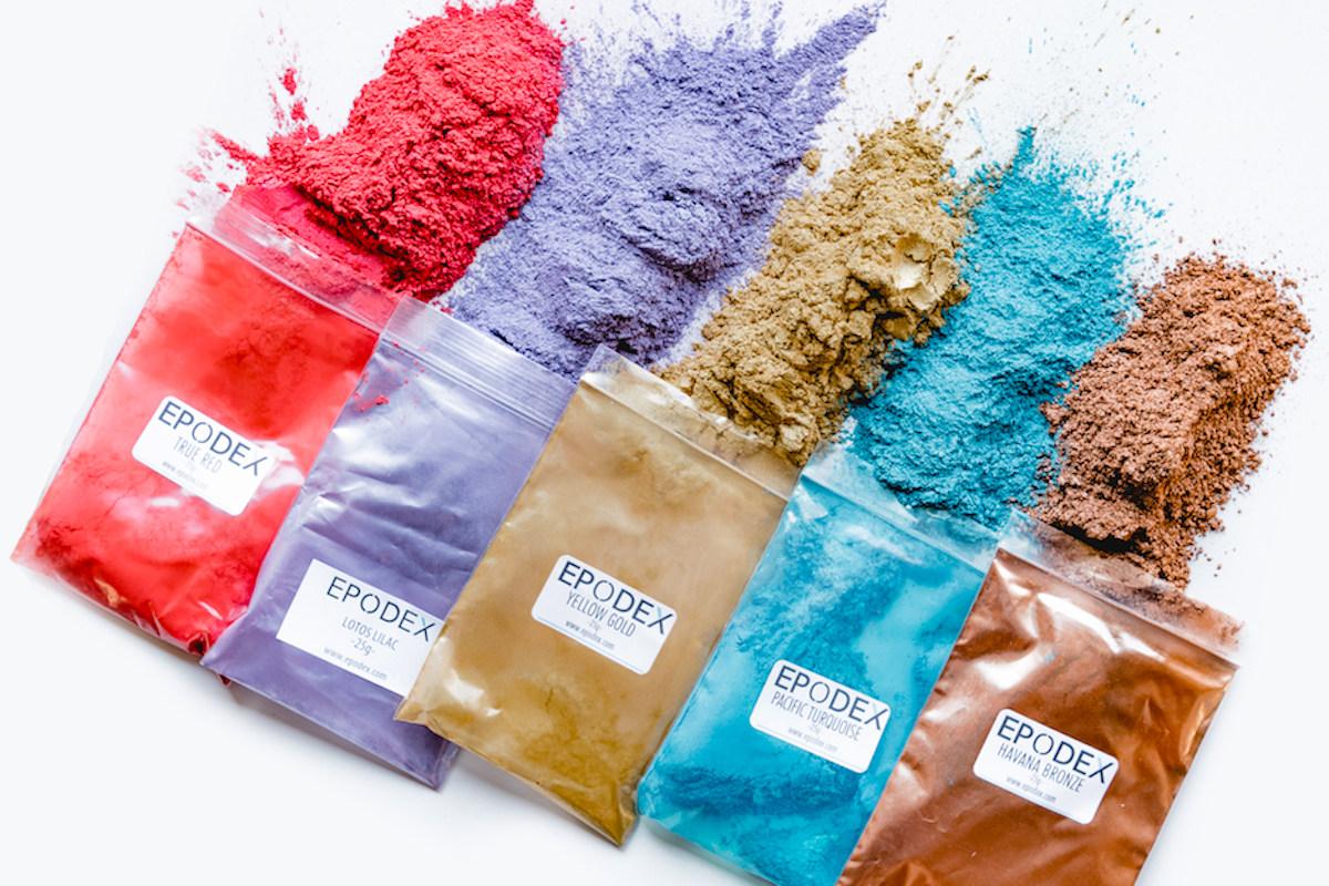 Pigments de couleur en résine époxy