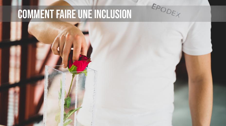 comment faire une inclusion