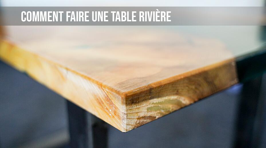 resine liquide table