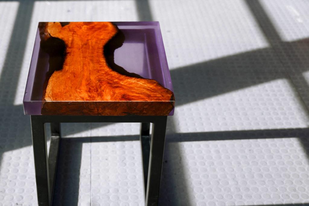 resine table epoxy