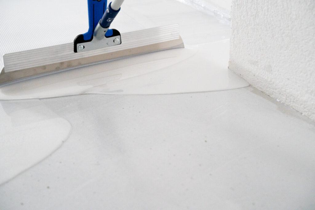 epoxy resin podłoga