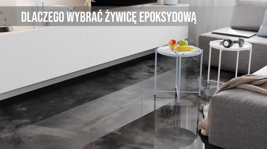 Żywica epoksydowa z EPODEX