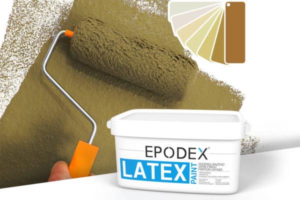 Latex paint epodex beige