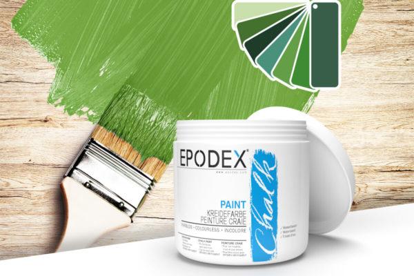 kreidefarbe chalk paint epodex gruen